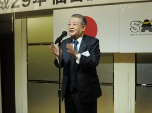 11-中締め挨拶 石田副理事長