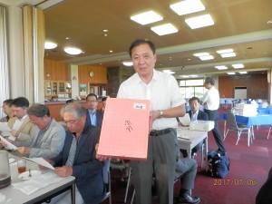 ベストグロス賞の若生氏(JR東日本企画)