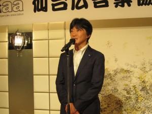 河北新報社営業局営業部主任 佐藤 繁樹(さとう しげき)さん