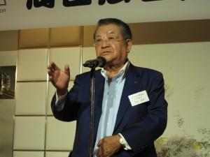 石田副理事長中締め挨拶